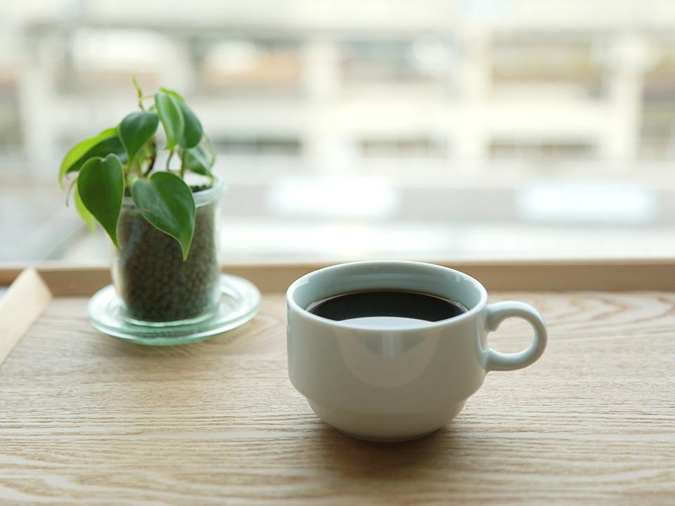 ウェルカムコーヒーでホッと一息