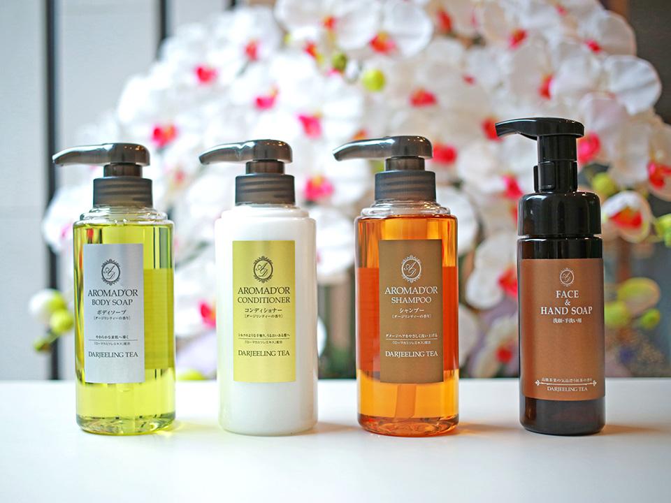洗发水/护发素/沐浴露/洁面乳